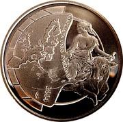 Belgium 10 Euro European Union Enlargement 2004 Proof KM# 234 AMPLATA UNIO EUROPAEA 2004 LL coin reverse