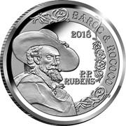 Belgium 10 Euro Rubens - Baroque et Rococo 2018 2018 P.P. RUBENS BAROC & ROCOCO coin obverse