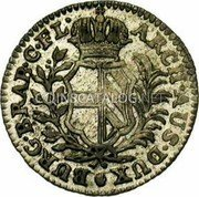 Belgium 10 Liards (10 Oorden) 1753 (h) KM# 12 Standart Coinage coin reverse