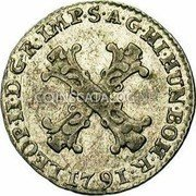 Belgium 10 Liards (10 Oorden) 1791 (b) KM# 54 Standart Coinage coin obverse