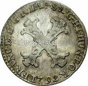 Belgium 10 Liards (10 Oorden) 1792 (b) KM# 58 Standart Coinage coin obverse