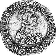 UK 10 Shillings 1601 KM# A5 Scotland coin obverse