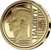 Belgium 12 1/2 Euro 175th Anniversary of Saxe-Coburg-Gotha 2008 Proof KM# 271 ALBERTVS I 2008 coin reverse