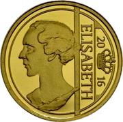 Belgium 12,5 Euro Elisabeth 2016 ELIZABETH 20 16 coin obverse
