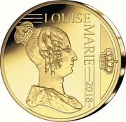 Belgium 12,5 Euro Reine Louise-Marie d'Orleans 2018 LUISE MARIE 2018 coin obverse