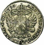 Belgium 14 Liards (14 Oorden) 1793 (b) KM# 59 Standart Coinage coin reverse