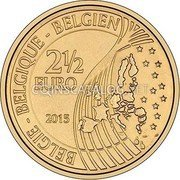 Belgium 2 1/2 Euro 2015 KM# 347 European Union Issues coin reverse