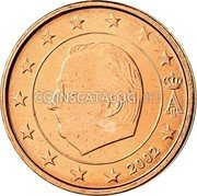 Belgium 2 Euro Cent 2002 Sets only KM# 225 European Union Issues coin obverse