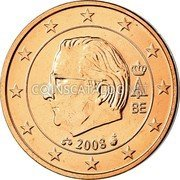 Belgium 2 Euro Cent 2008 Proof KM# 275 European Union Issues coin obverse
