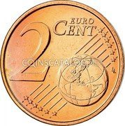 Belgium 2 Euro Cent 2008 Proof KM# 275 European Union Issues coin reverse