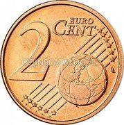 Belgium 2 Euro Cent KM# 296 Country Standart Coinage 2 EURO CENT LL coin reverse