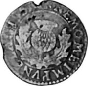 UK 2 Pence 1663 KM# 100 Scotland NEMO ME IMPUNE LACESSET coin reverse