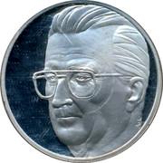 Belgium 20 Euro 1996 UNC Kingdom coin obverse