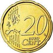 Belgium 20 Euro Cent (Albert II) KM# 299 20 LL EURO CENT coin reverse