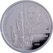 Belgium 20 Euro Commission for Relief in Belgium 2016 Proof KM# 361 THE COMMISSION FOR RELIEF IN BELGIUM 1914 - 1918 coin reverse