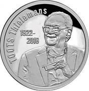 Belgium 20 Euro Toots Thielemans 2017 TOOTS THIELEMANS 1922 2016 coin reverse