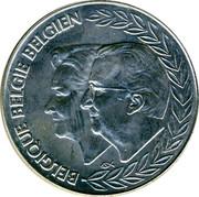 Belgium 250 Francs 40th Wedding Anniversary of King Albert II and Queen Paola 1999 KM# 209 BELGIQUE BELGIE BELGIEN coin obverse