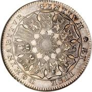 Belgium 3 Florins 1790 (b) KM# 50 Insurrection Coinage ET IPSE DOMINABITVR GENTIVM coin reverse
