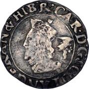UK 3 Shillings 1642 KM# 96 Scotland CAR D G SCOT ANG FRAN & HIB R coin obverse