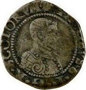 UK 30 Pence 1601 KM# 3 Scotland coin obverse