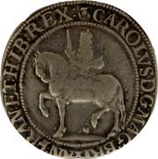 UK 30 Shillings Charles I ND KM# 91 CAROLVS • D:G • MAG • BRIT • FRAN • & • HIB • REX coin obverse