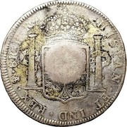 UK 4 Shillings 9 Pence ND KM# CC50 Scotland HISPAN ET IND REX M 8R P R coin reverse