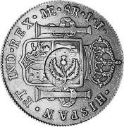 UK 4 Shillings 9 Pence ND KM# CC49 Scotland HISPAN ET IND REX ME 8R I J coin reverse