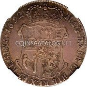UK 40 Shillings 1692 KM# 125 Scotland coin reverse