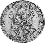 UK 40 Shillings 1696 KM# 143 Scotland coin reverse