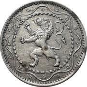 Belgium 5 Centimes 1916 KM# 80 Decimal Coinage coin obverse