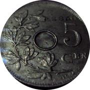 Belgium 5 Centimes 1929 KM# Pn293 Kingdom ESSAI 5 CEN A. MICHAUX coin reverse