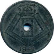 Belgium 5 Centimes 1941 KM# 123 Decimal Coinage 1941 coin reverse