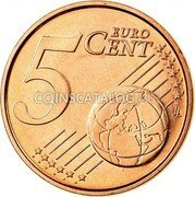 Belgium 5 Euro Cent KM# 297 Country Standart Coinage 5 EURO CENT LL coin reverse