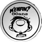 Belgium 5 Euro Gaston Lagaffe 2017 Proof M'ENFIN? 60 ANS coin reverse