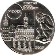 Belgium 5 Euro Mons European Capital of Culture 2015 BU KM# 353 2015 MONS EUROPEAN CAPITAL OF CULTURE coin reverse