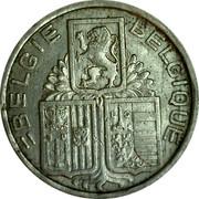Belgium 5 Francs KM# 117.1 Decimal Coinage BELGIE BELGIQUE coin obverse