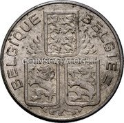 Belgium 50 Centimes 1939 KM# 118 Decimal Coinage coin reverse