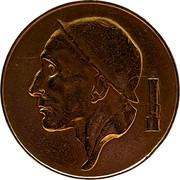Belgium 50 Centimes 1953 KM# 148.2 Decimal Coinage RAU coin obverse