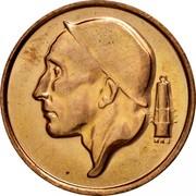 Belgium 50 Centimes 1977 KM# 148.1 Decimal Coinage RAU coin obverse