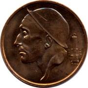 Belgium 50 Centimes 1998 KM# 149.1 Decimal Coinage RAU coin obverse