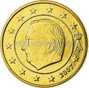 Belgium 50 Euro Cent 2007 Proof KM# 244 European Union Issues coin obverse
