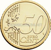 Belgium 50 Euro Cent 2014 KM# 336 European Union Issues coin reverse