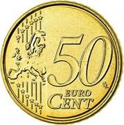 Belgium 50 Euro Cent (Albert II) KM# 300 50 LL EURO CENT coin reverse