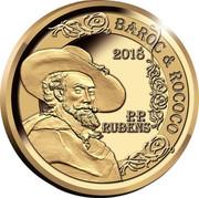 Belgium 50 Euro Rubens - Baroque et Rococo 2018 2018 P.P. RUBENS BAROC & ROCOCO coin obverse