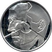 Belgium 50 Francs 1991 KM# 169 Decimal Coinage J.P.L coin obverse