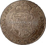 UK 60 Shillings 1692 KM# 134 Scotland coin reverse