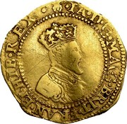 UK Crown ND KM# 24 Scotland IA D G MAG BRIT FRAN ET HIB REX coin obverse