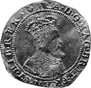 UK Double Crown James VI ND KM# 27.1 IA · D · G · MAG · BRIT · FRAN · ET · HIB · REX · coin obverse