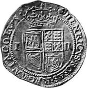 UK Double Crown James VI ND KM# 27.1 · HENRICVS · ROSAS · REGNA · IACOBVS · coin reverse