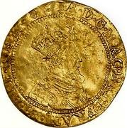 UK Double Crown ND KM# 26 Scotland IA D G MAG BRIT FRAN ET HIB REX coin obverse